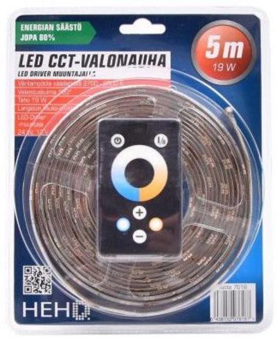 LED-valonauha, 5 m, himmennettävä, HEHQ