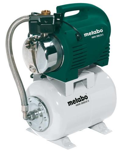 Vesiautomaatti, Metabo HWW 3000/20 S - Vesiautomaatti, Metabo HWW 3000/20 S