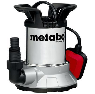Uppopumppu puhtaalle vedelle, 450 W, Metabo - Uppopumppu, Metabo TPF 6600 SN