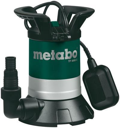 Uppopumppu puhtaalle vedelle, 350 W - Metabo -  Uppopumppu puhtaalle vedelle, Metabo TP 8000 S
