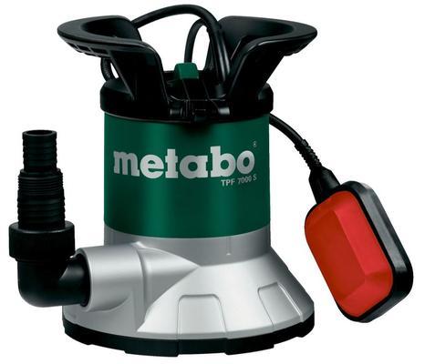 Uppopumppu puhtaalle vedelle, 450 W - Metabo - Uppopumppu puhtaalle vedelle, Metabo TPF 7000 S