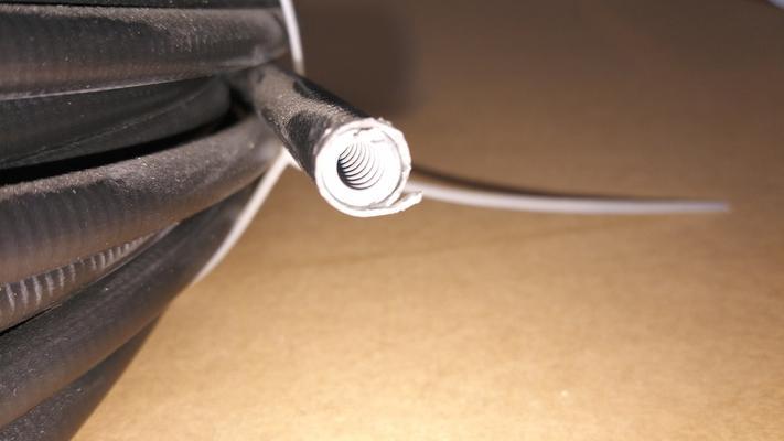 Vaijerin suojus - Sisämitta 2,5 mm