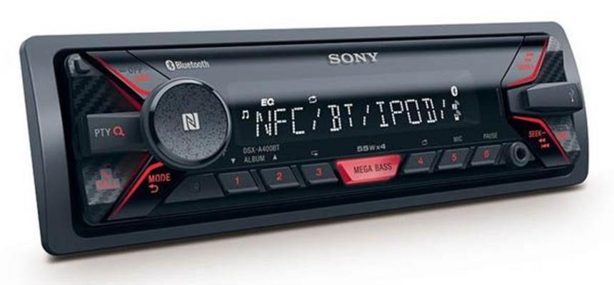 Autosoitin, Sony DSX-A410BT