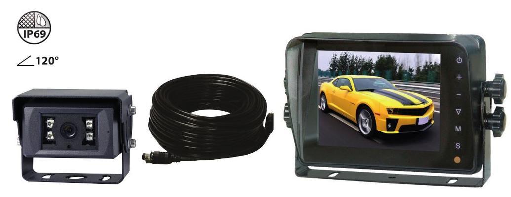 """Peruutuskamerasetti 5"""" LCD-näytöllä - Peruutuskamerasetti"""