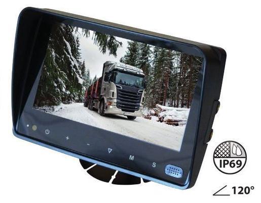 """Peruutuskamerasetti 7"""" TFT- / LCD-näytöllä - Peruutuskamerasetti"""