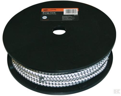 Elastinen aitaköysi / porttiköysi 50 m - Elastinen aitaköysi 7 mm / 25 m
