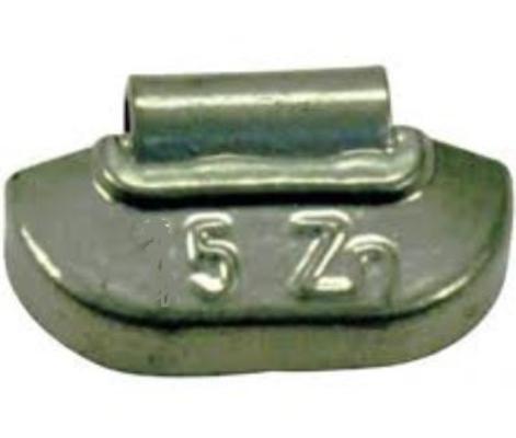Renkaan tasauspaino (kevytmetallivanne) - Rengaspaino 5 g, 100 kpl