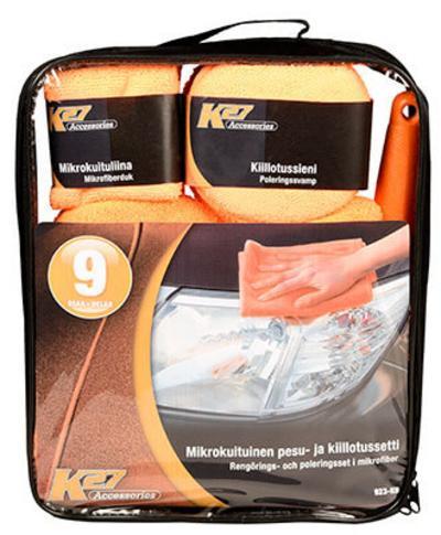 Kiillotussetti, 9-osainen, K27