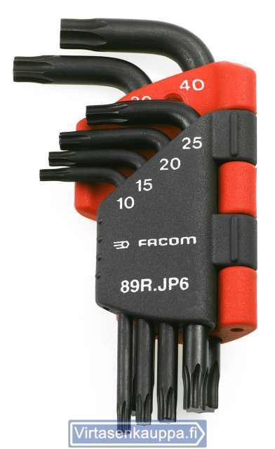 Torx-koloavainsarja, Facom 89R.JP6 - Torx-koloavainsarja