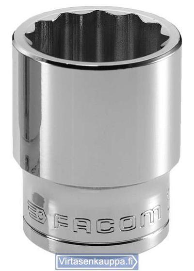 """Hylsy 1/2"""", lyhyt - Facom - 10 mm"""
