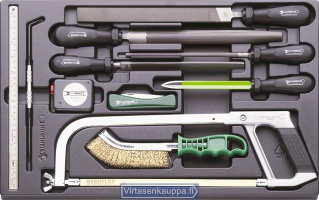 Työkalusarja-moduuli (viilat, mittavälineet) - Stahville - 11-osainen työkalusarja (viilat ja mittavälineet)