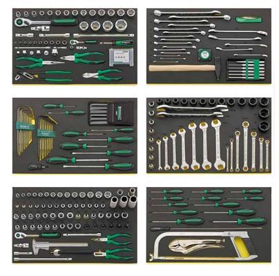 Työkaluvaunu ja 256-osainen työkaluvalikoima, Stahlwille - Työkaluvaunu ja 256-osainen työkaluvalikoima