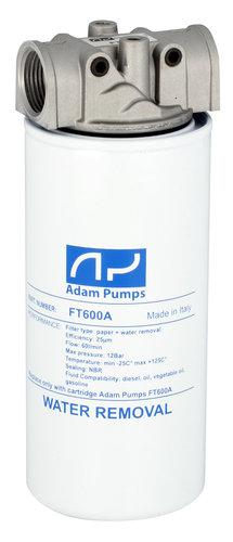 Vedenerotussuodatin + jalka, 60 l/min - Adam Pumps - Vedenerotussuodatin + jalka, 60 l/min
