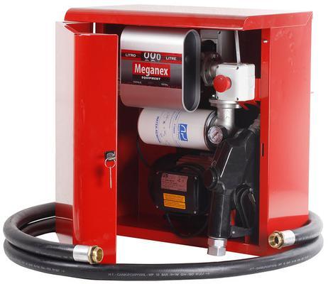Tankkauspumppusarja (kaappi), 80 l - dieselille - Polttoainepumppusarja