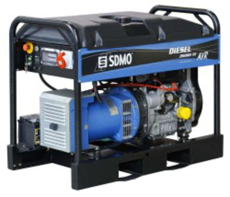 Aggregaatti 15.2 kW (diesel), SDMO - Aggregaatti 15.2 kW (diesel)