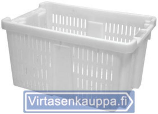 VIHANNESLAATIKKO ILMARAOILLA 45L VALKOINEN ELINTARVIKE HYVÄKSYTTY