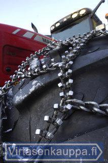 Traktorin jääketjut 16.9-24/26/28/30, Tellefsdal - Jääketjut Quatro T70 16.9R24/26/28