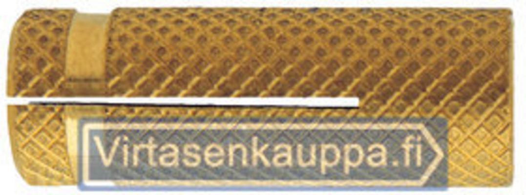 Messinkiankkuri, Friulsider - Koko Ø 8 x 23 mm, kierre M6 (200 kpl)