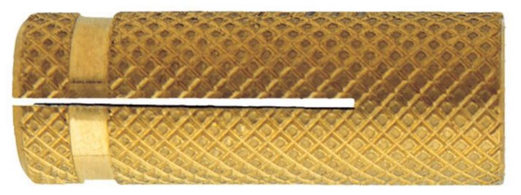 Messinkiankkuri, Friulsider - Koko Ø 14 x 38 mm, kierre M12 (100 kpl)