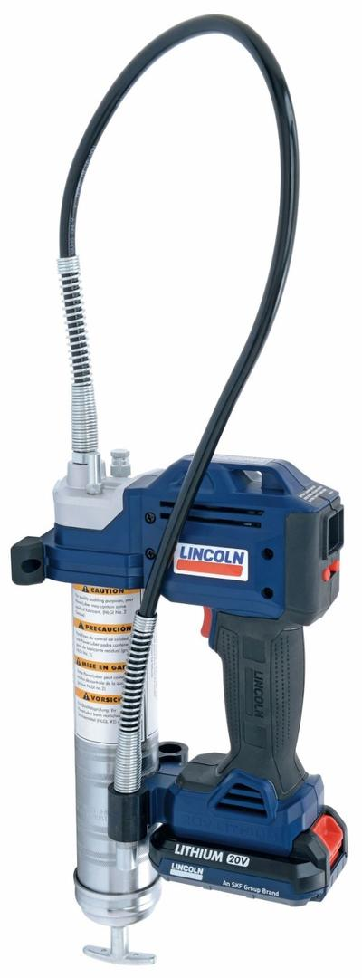 Akkukäyttöinen rasvaprässi, PowerLuber, Lincoln - Akkukäyttöinen rasvapuristin PowerLuber