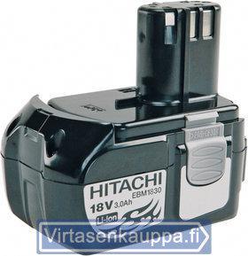 Akku Li-Ion 18 V / 3,0 Ah EBM1830, Hitachi - Akku Li-Ion 18 V / 3,0 Ah EBM1830