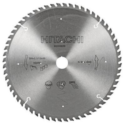 Sahanterä 305 x 2,8/1,8 x 30 mm Z60, Hitachi - Sahanterä 305 x 2,8/1,8 x 30 mm Z60