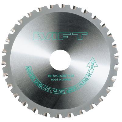 Pyörösahanterä metallille, Hitachi - 165 x 2,0 x 30 mm Z30