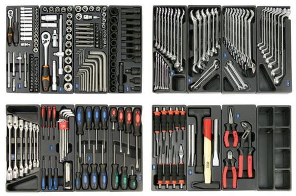 Iso työkaluvaunu + työkalut (yli 900 osaa) - Iso työkaluvaunu + työkalut (yli 900 osaa)