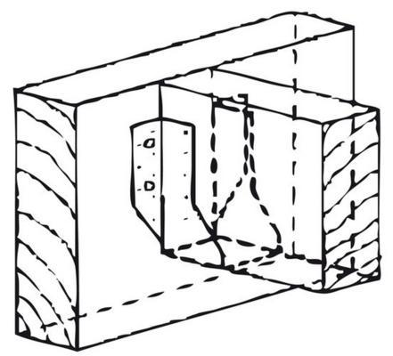 Palkkikenkä 48 x 95 mm, Joma - Palkkikenkä 48x95 mm