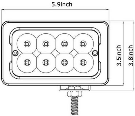 Led-työvalo | 40 W | 3200 lm, JOL