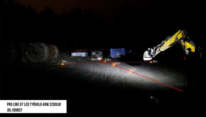 Led-työvalo Pro Line G7 | 40 W | 3200 lm,  JOL