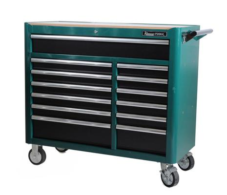 Korjaamovaunu, 13 laatikkoa, Kamasa-Tools - Korjaamovaunu, 13 laatikkoa
