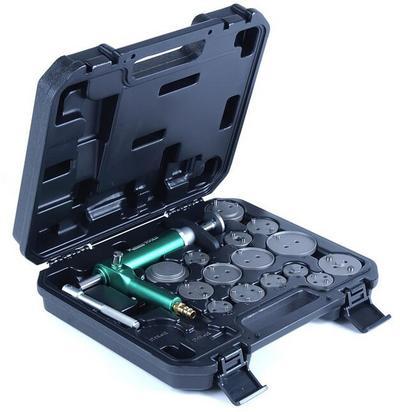 Paineilmakäyttöinen jarrumäntätyökalusarja, Kamasa-Tools - Paineilmakäyttöinen jarrumäntätyökalusarja