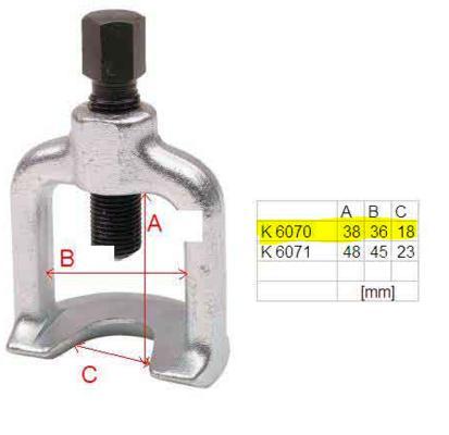 Pallonivelen ulosvetäjä 18 mm (henkilöauto) - Kamasa Tools - Pallonivelen ulosvetäjä 18 mm (henkilöauto)