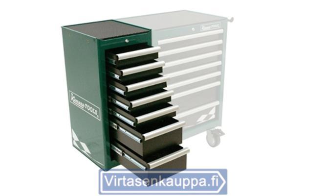 Sivuvaunu, 7 laatikkoa - Kamasa-Tools - Sivuvaunu, 7 laatikkoa