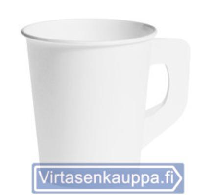KERTAKÄYTTÖ KAHVIKUPPI 80KPL KORVALLA
