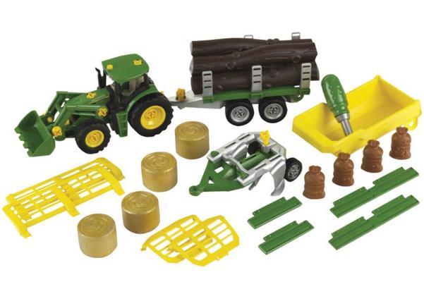Koottava John Deere -leikkitraktori sekä perävaunusetti, Klein - Koottava John Deere -leikkitraktori sekä perävaunusetti