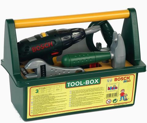 Bosch -leikkityökalupakki työkaluilla, Klein - Bosch -leikkityökalupakki työkaluilla