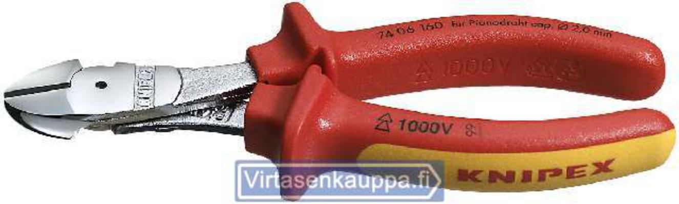 Sivuleikkurit 160 mm, Knipex - Sivuleikkurit 160 mm