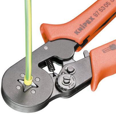 Kaapeliliitinpihdit 180 mm, Knipex - Kaapeliliitinpihdit 180 mm