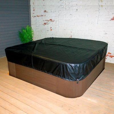 Ulkoporealtaan eristekannen suojapeite - Eristekannen suojapeite 230x230x30cm (Lumispa 600srj)