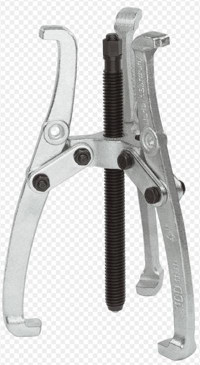 3-jalkainen ulosvedin 100 x 50-100 mm, nivelletyt jalat -  Kukko - 3-jalkainen ulosvedin 100 x 50-100 mm, nivelletyt jalat
