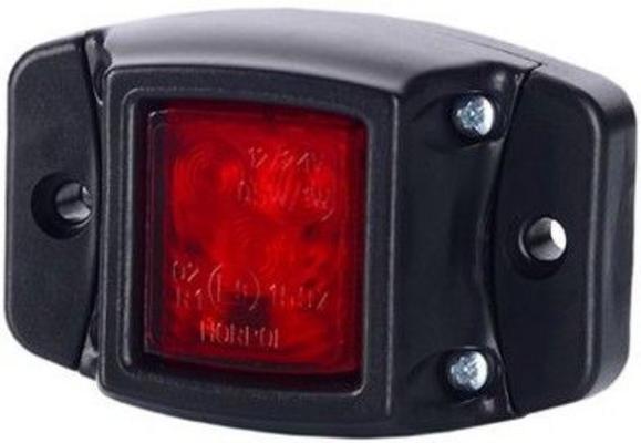 Led-äärivalo 12/24 V 3 LED - Punainen, JOL