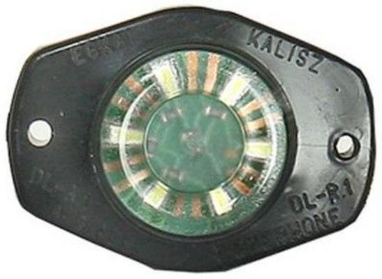 LED-äärivalo 12/24 V 6-LED  valkoinen, JOL