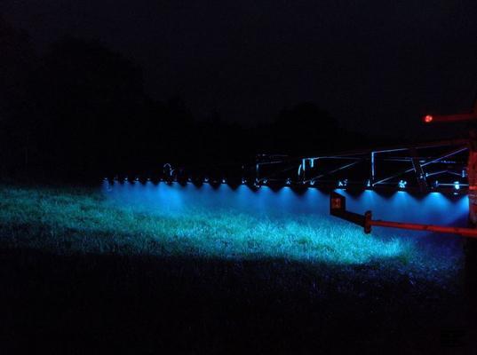 Led-työvalosarja, ruiskun sinivalo (1000 lm), Kramp - Led-työvalosarja, ruiskun sinivalo (1000 lm), Kramp