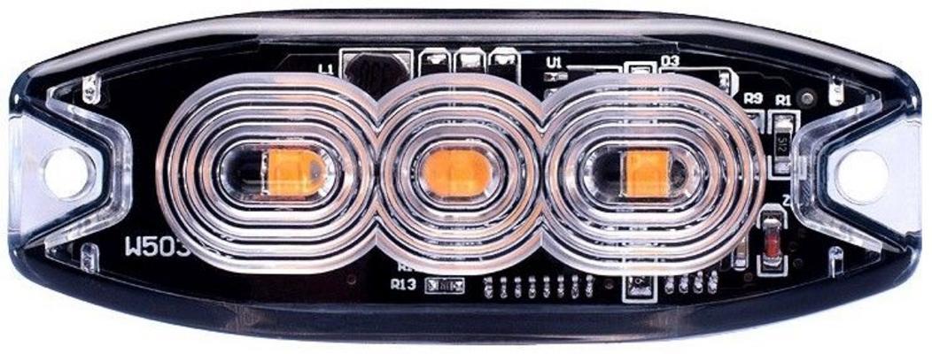 LED-tasovilkku slim 3 x LED, JOL