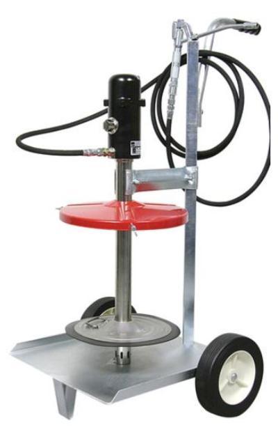 Paineilmatoiminen rasvauslaite (50 kg astialle), Mato - Paineilmatoiminen rasvauslaite (50 kg astialle)