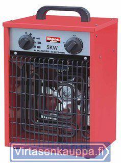 Sähkölämmitin 5 kW / 400 V, Meganex - Sähkölämmitin 5 kW / 400 V