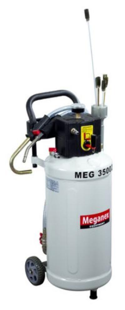 Paineilmakäyttöinen jäteöljyn poistoyksikkö 30 l, Meganex - Paineilmakäyttöinen jäteöljyn poistoyksikkö 30 l