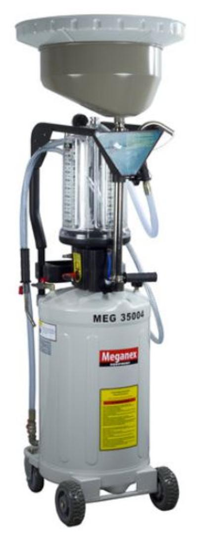 Paineilmakäyttöinen jäteöljyn poistoyksikkö 80 l, Meganex - Paineilmakäyttöinen jäteöljyn poistoyksikkö 80 l